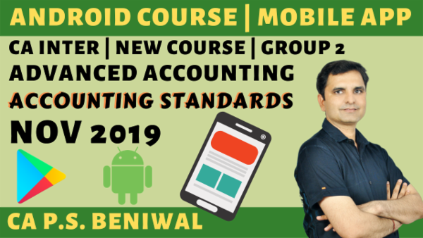 CA Inter Accounting Standards Nov 2019 | Group-2 cover