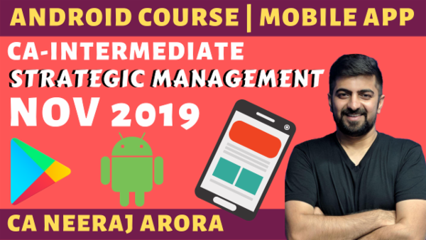 Strategic Management New Course Nov 2019 CA Inter cover
