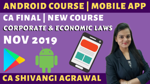 Corporate and Economic Laws CA Final | New Course Nov 2019 cover