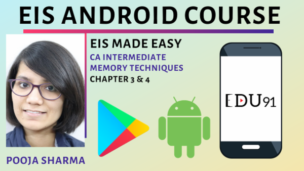 EIS Made Easy By Pooja Sharma | Memory Techniques | Chapter 3 & 4 | Nov 2019 cover
