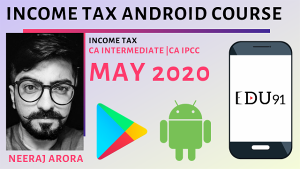 CA Inter/IPCC Income Tax May 2020 | Mobile App cover