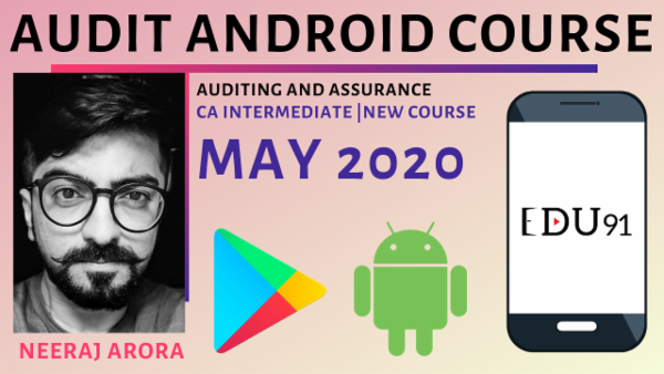 CA Inter Auditing & Assurance for May 2020 | Mobile Course cover
