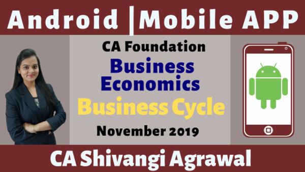 CA Foundation Business Cycle N19 | Mobile App cover