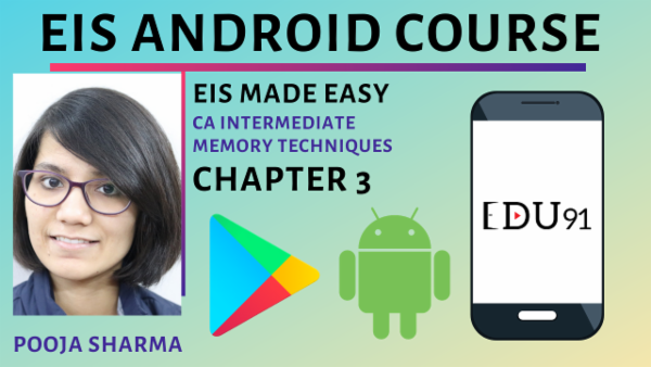 EIS Made Easy By Pooja Sharma | Memory Techniques | Chapter 3 | Nov 2019 cover
