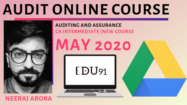 CA Inter Auditing and Assurance M20 | Online Course cover