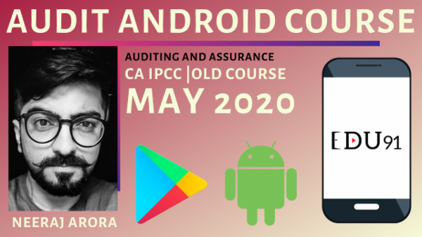 CA IPCC Audit Fresh Recordings for May 2020 | Mobile App cover