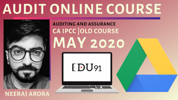 CA IPCC Audit Fresh Recordings for May 2020 | Online Laptop cover