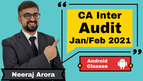 CA Intermediate Auditing and Assurance Classes - Android App - Nov 2020 cover