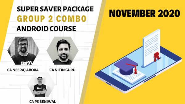 CA Inter Group 2 Combo - Nov 2020 - Android App cover