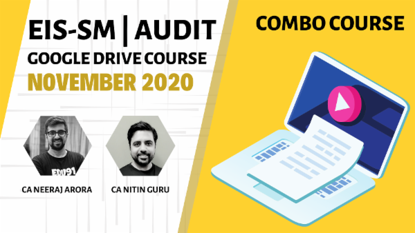 CA Inter Audit,EIS & SM Combo - Google Drive - Nov 2020 cover