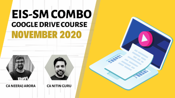 CA Inter EIS & SM Combo - Google Drive - Nov 2020 cover